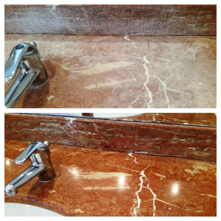 Bathroom Countertop Renovation