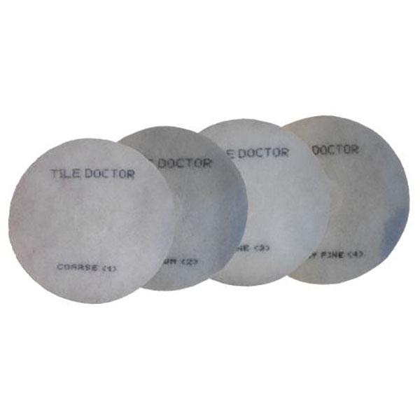 6-inch Stone Burnishing Pads