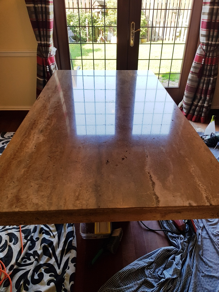 Stone Tabletop Polishing